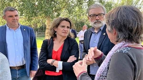 Ribera asegura que Junqueras le ha expresado la intención de ERC de trabajar en el cambio climático