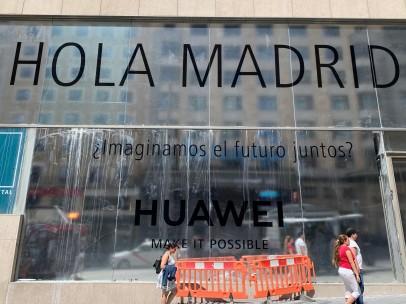 Sede de Huawei en Madrid