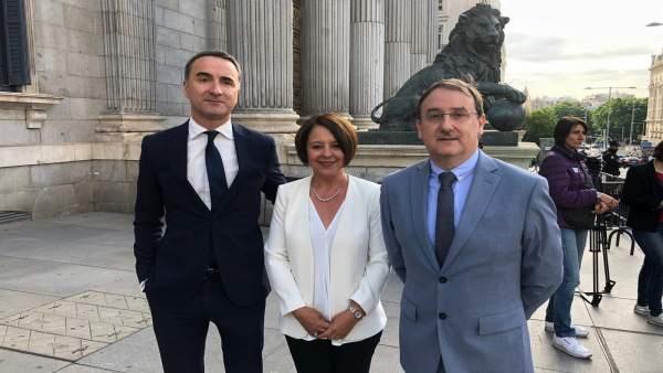 Sofía Hernanz y Patricia Abascal (PSOE) empiezan la legislatura con 'ilusión y responsabilidad'
