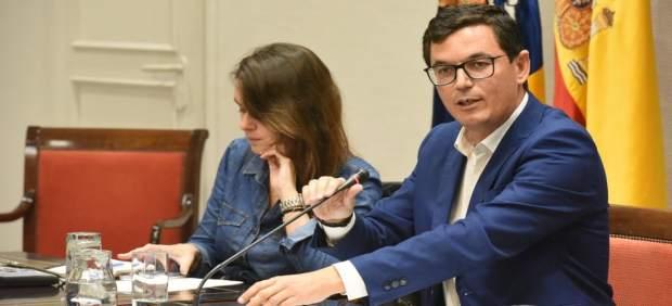 Pablo Rodríguez en comisión parlamentaria