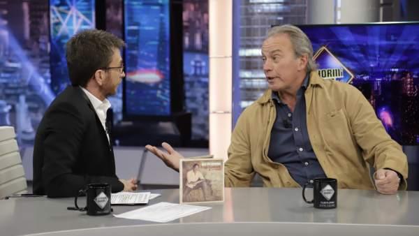 Pablo Motos y Bertín Osborne, en 'El hormiguero'.