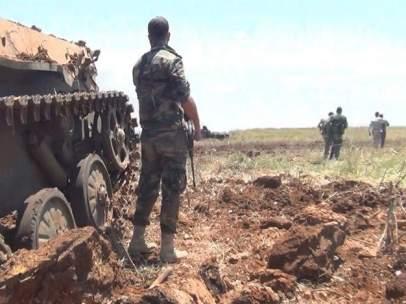 Tropas sirias