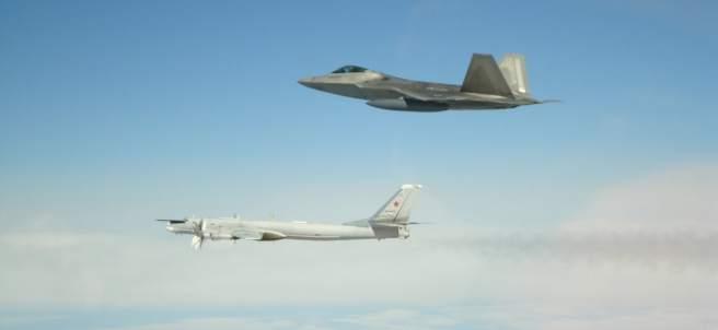 Aviones militares rusos interceptados por EE UU