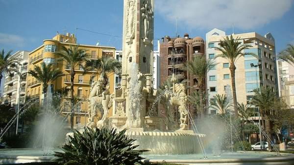 Plaza de Los Luceros, Alicante