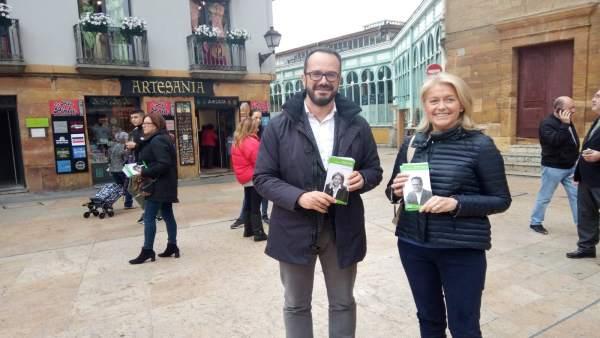 Asturias.- Blanco (Vox) se compromete a luchar contra las listas de espera en la sanidad por ser 'listas de la muerte'