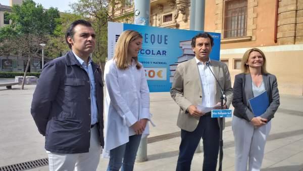 26M.- Company Promete Un Cheque Escolar De 150 Euros Por Hijo Y Libros De Texto Y Transporte Escolar Gratis