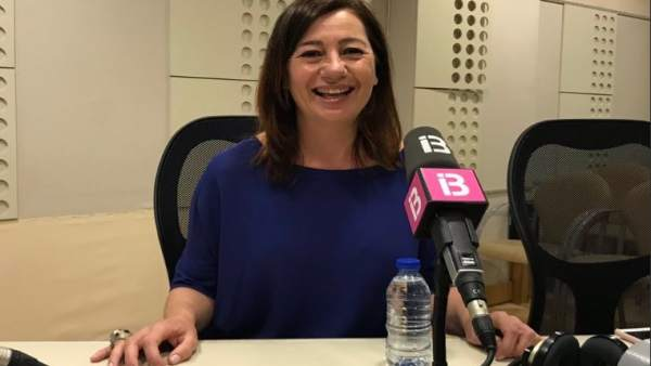 26M.- Armengol Reitera Que Las Cortes Aprobarán La Parte Fiscal Del REB 'Los Primeros Meses De Legislatura Estatal'