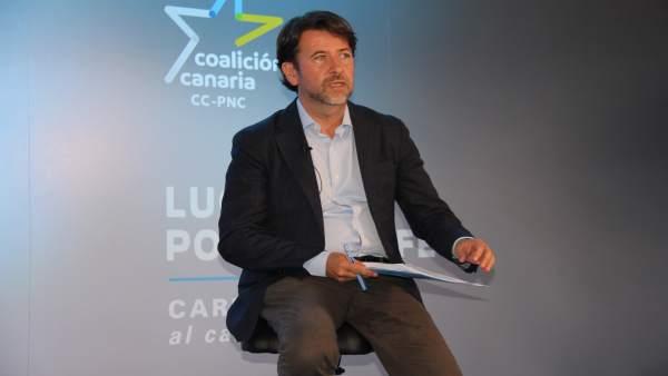 26M.- Alonso (CC) destaca la coherencia de Tavío (PP) y ve un 'impulso importante' que pida el voto para su candidatura
