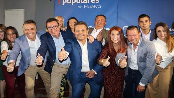 Huelva.-26M.-El candidato del PP pide el voto para construir una 'Chucena libre' frente a la política 'de carnés'