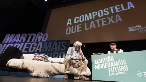 26M.- Noriega, Sobre La Visita De Iglesias A Galicia: 'Contamos Con El Apoyo De Todos Los Partidos De La Unidad Popular'
