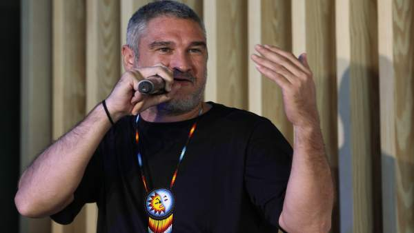 El cantante Javier Ibarra, conocido artísticamente como Kase O