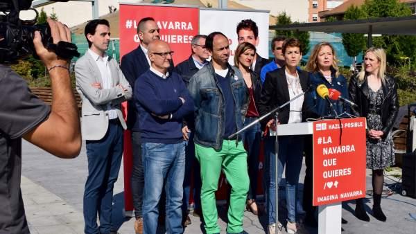 26M.- Chivite Cree Que El Cuatripartito Es 'Una Vía Muerta' Y Que Barkos 'Se Equivoca Con Sus Políticas Nacionalistas'