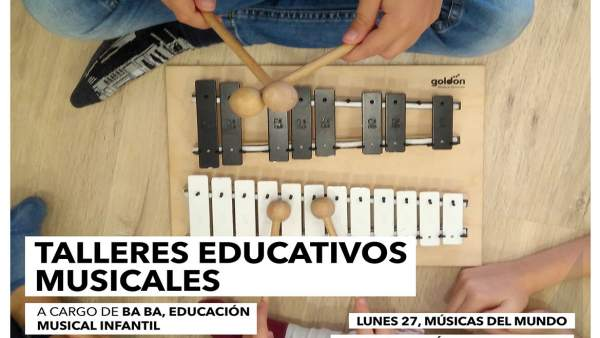 Málaga.-Biblioteca Cánovas del Castillo acerca a los niños la cultura musical a través de distintos talleres educativos