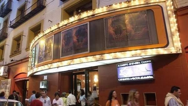 Sevilla.- Arranca la fase de alegaciones de la declaración BIC del cine Cervantes y las antiguas salas Trajano y Lloréns