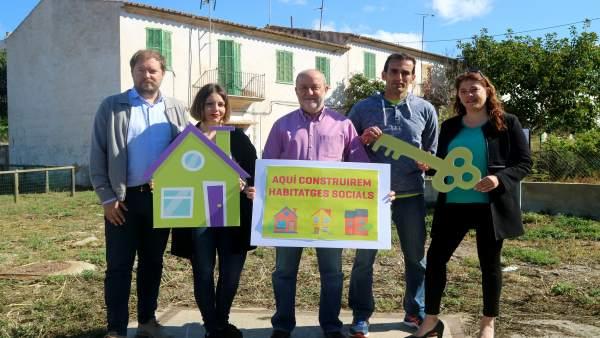 26M.- MÉS Per Marratxí Se Compromete A Poner En Marcha Programas Especiales De Viviendas Compartidas Y Tuteladas
