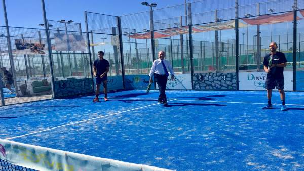 Málaga.- 26M.- De la Torre (PP) creará más pabellones y espacios deportivos en playas y parques de todos los distritos