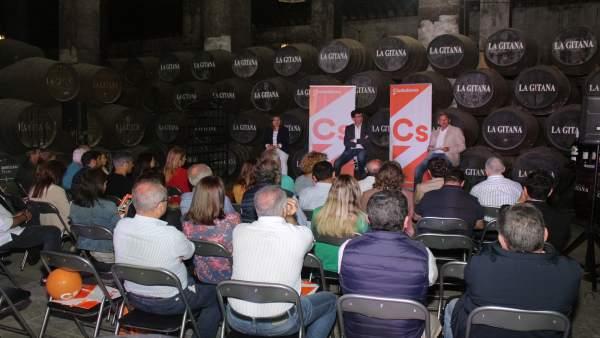Cádiz.-26M.- Marín (Cs) dice que 'hay que aprovechar las oportunidades y la diversificación del sector turístico'