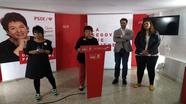 26M.- El PSOE De Segovia Apuesta Por La Renovación Urbana De La Plaza De La Artillería