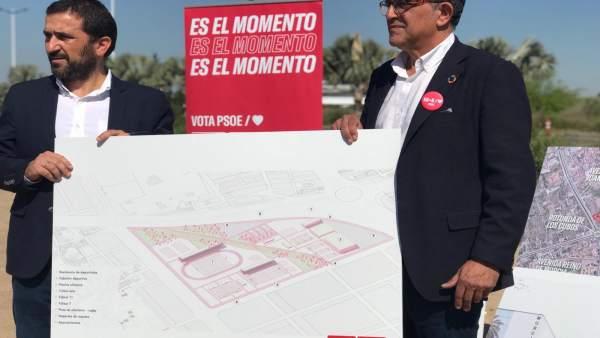 26M.- Serrano: 'Haremos De Murcia Un Referente Del Deporte Base Y De Competición Construyendo Una Ciudad Deportiva'