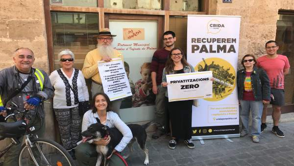 26M.- Crida Per Palma Propone Municipalizar Las Ocho 'Escoletes' Públicas De Gestión Privada De La Ciudad