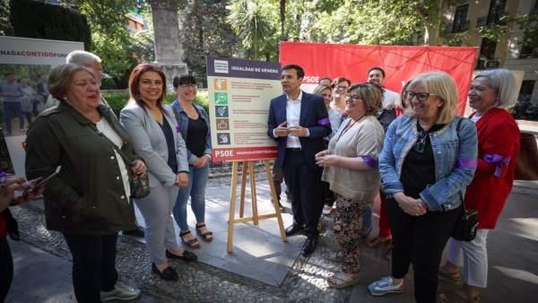 Granada.- 26M.- El PSOE advierte de pérdida de derechos en materia de igualdad si hay pacto PP-Cs-Vox