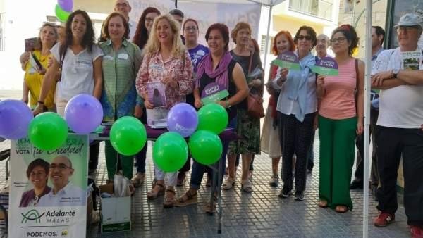Málaga.- 26M.- Adelante Málaga creará una concejalía de Igualdad dotada con 40 millones de euros