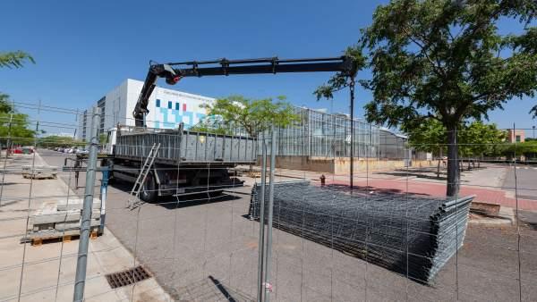 Castellón.- Comienzan las obras del segundo módulo de la Facultad de Ciencias de la Salud en la UJI