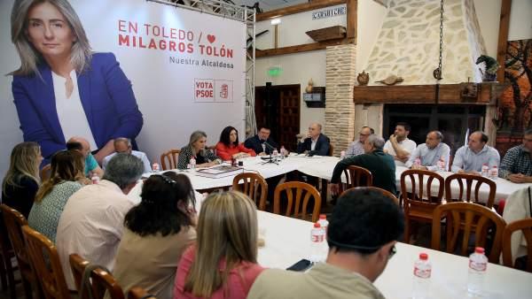 26M.- Tolón (PSOE) Destinará Nuevos Fondos Europeos Para Modernizar El Polígono Industrial De Toledo Si Es Reelegida