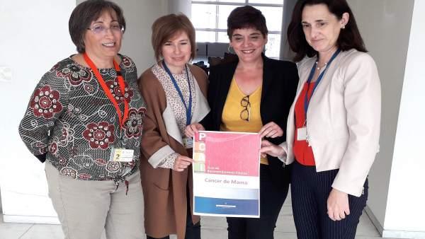 El Principado actualiza su protocolo para atender a las mujeres que padecen cáncer de mama en Asturias