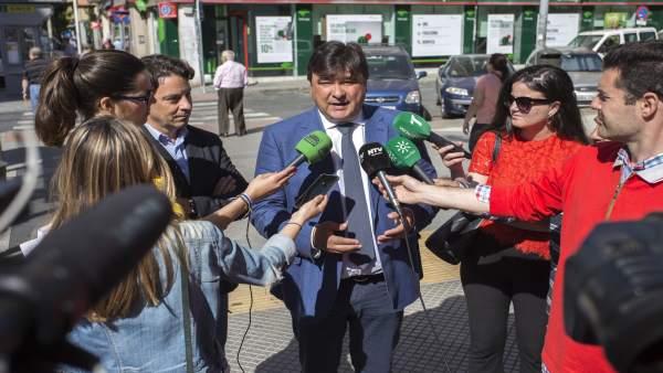 Huelva.- 26M.- Cruz priorizará el empleo con planes de contratación, apoyo a emprendedores y al desarrollo industrial