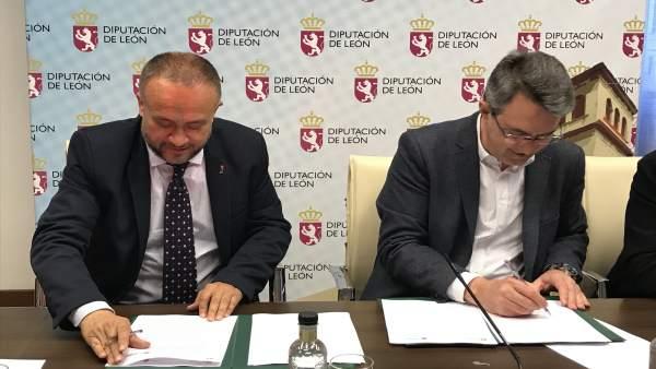 La Diputación de León aporta 90.000 euros para continuar colaborando con el desarrollo del Banco de Tierras de El Bierzo