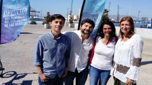 Málaga.- 26M.- Málaga Ahora muestra su rechazo al proyecto del hotel del puerto: 'Destruiría nuestra bahía'