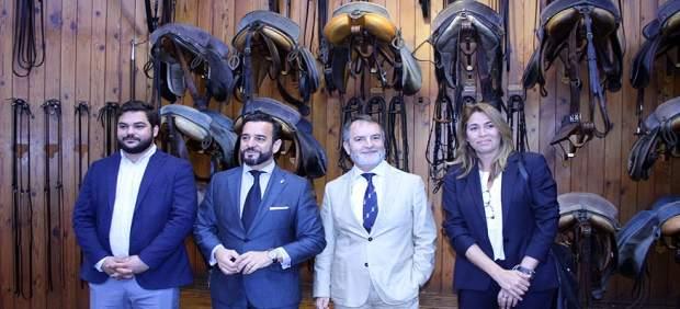 Cádiz.-Turismo.- Jorge Ramos asume la dirección de la Real Escuela Andaluza de Arte Ecuestre