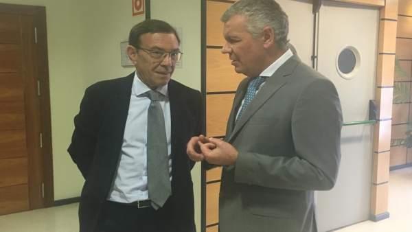26M-A.- Juan Vázquez (Cs) Resalta Sus Coincidencias Con La FADE Para Impulsar El Dinamismo Económico Y La Innovación