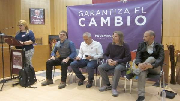 26M.- Fernández (Podemos), Preocupado Por Que El PSOE No 'Descarte' Un Pacto Con Cs Que Cada Día Parece Más Cierto
