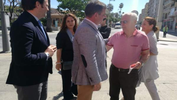 Huelva.- 26M.- Santos (Cs) apuesta por reducir los impuestos municipales 'dentro de la estabilidad presupuestaria'