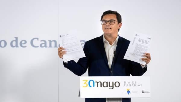 Consejo.- Canarias llevará a la Audiencia Nacional la 'mentira' de Fomento sobre la deuda en carreteras
