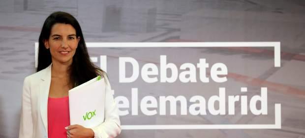 Rocío Monasterio, de Vox, denuncia que en los colegios de Madrid se enseña
