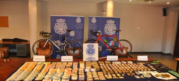 Sucesos.- La policía se incauta de casi 40 kilos de hachís y detiene a siete personas en Palencia