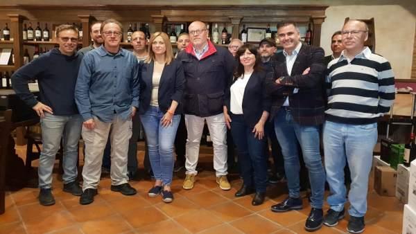 26M.- Picazo (Cs) Pondrá En Marcha Una Red Interprofesional Del Vino Si Es Presidenta De C-LM