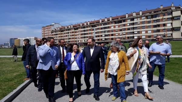 26M-A.- 'Vienen A Trabajar', Defiende Barbón De Las Visitas De Ministros En Campaña Electoral