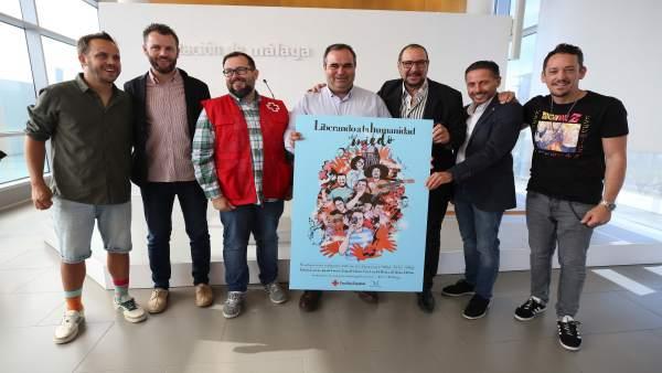 Málaga.- El auditorio Edgar Neville acoge, el 29 de mayo, un espectáculos de monólogos organizado por Cruz Roja