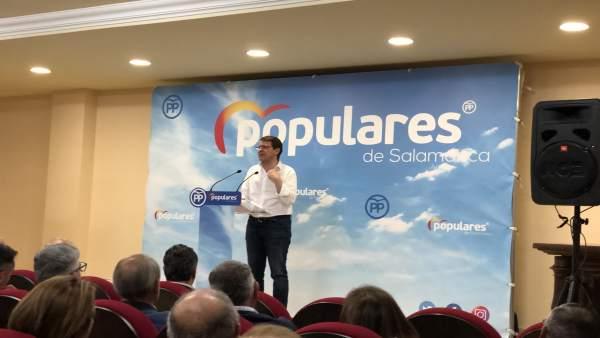 26M.- Mañueco Promete Un Grupo De Trabajo Presidido Por Él Que En 90 Días Flexibilice Normas Sanitarias Para El Ganado