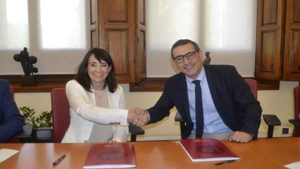 La UMU y la empresa Lorca Marín crearán el 'Premio Pascual Parrilla de Cirugía' a través de una nueva cátedra