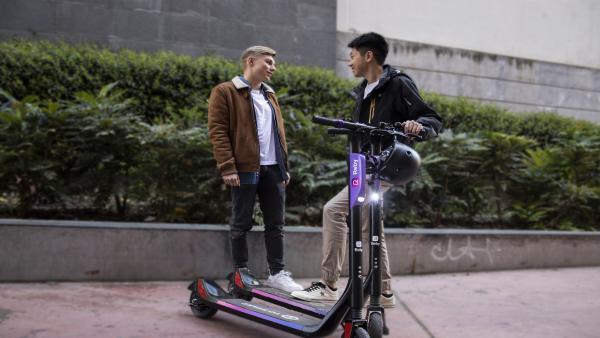 Zaragoza.- Reby comienza el despliegue de sus patinetes eléctricos de uso compartido