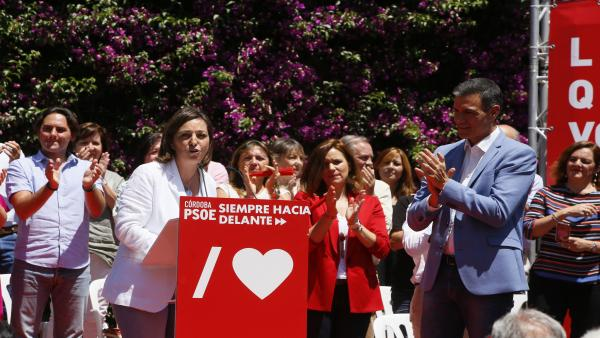 Córdoba.- 26M.- Isabel Ambrosio (PSOE) pide a Pedro Sánchez que 'revierta' la Ley de Administración Local