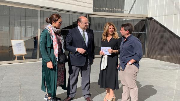 Granada.- 26M.- El PP plantea hacer del Centro Lorca en 'un referente mundial del legado del poeta'