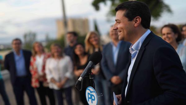 Córdoba.- 26M.- Bellido (PP) pide el apoyo a votantes de Cs 'si quieren cambio' en el gobierno local