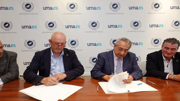 Málaga.- Una cátedra de la UMA y Feníe Energía abordará estudios conjuntos sobre transformación energética