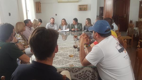 Cádiz.-26M.-Carazo fija el fin del proyecto del arreglo de A389 en seis meses con el objetivo de licitar la obra en 2020